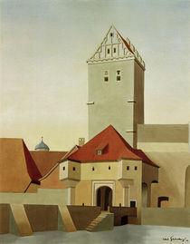 C.Grossberg, Dinkelsbühl – Rothenb. Tor von AKG  Images