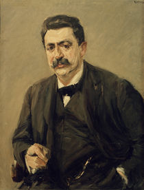 "M.Liebermann, ""Portrait of Dr. Julius Elias"" / painting by AKG  Images"