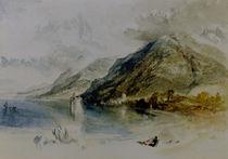 W.Turner, Schloß von Chillon von AKG  Images