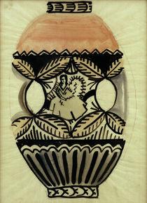 August Macke, Vasen-Entwurf von AKG  Images