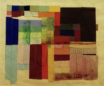 A.Macke, Abstrakte Komposition mit Frau von AKG  Images