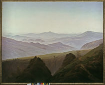 Friedrich / Morning i. th. Mountains/ 1822 by AKG  Images