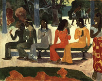 Gauguin / Ta Matete / 1892 by AKG  Images