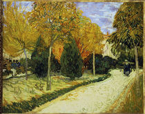van Gogh / Autumnal Garden / 1888 by AKG  Images