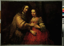 Rembrandt, The Jewish Bride /  c. 1663 by AKG  Images