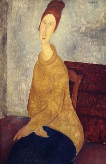 A. Modigliani, Jeanne Hebuterne Sweater von AKG  Images