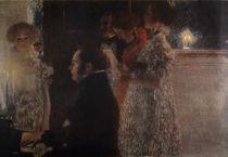 Schubert am Klavier / Klimt 1899 von AKG  Images