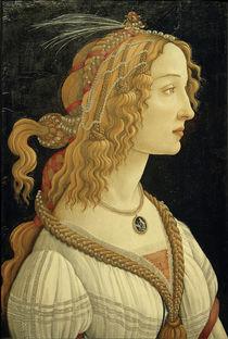 S.Botticelli, Weibliches Idealbildnis von AKG  Images
