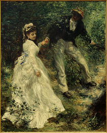 The Promenade / A. Renoir / Painting, 1870 by AKG  Images