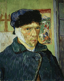 Van Gogh, Self portrait with bandaged ear by AKG  Images