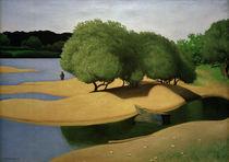 F.Vallotton, Sandbänke an der Loire von AKG  Images
