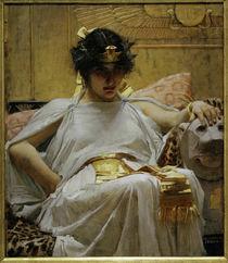 Kleopatra / Gem. v. J.W.Waterhouse, 1888 von AKG  Images