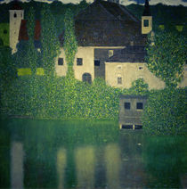G.Klimt, Schloss Kammer on the Attersee I / 1908 by AKG  Images