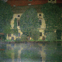G.Klimt, Schloss Kammer on the Attersee III / 1910 by AKG  Images