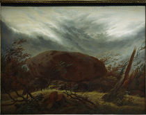 C.D.Friedrich, Dolmen in the Autumn/1820 by AKG  Images