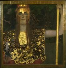 Gustav Klimt / Pallas Athene / 1898. by AKG  Images