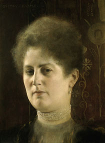 Gustav Klimt / Female portrait / 1894 by AKG  Images