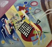 W.Kandinsky, Schwarzer Raster von AKG  Images
