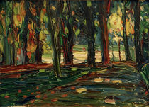 In the Park of Saint Cloud / W. Kandinsky / Painting 1906 by AKG  Images