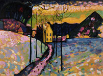 W.Kandinsky, Winter I – Kochel by AKG  Images