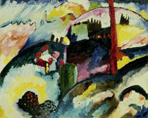 Kandinsky / Landscape with Chimneys by AKG  Images