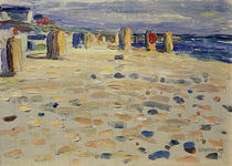 Kandinsky / Wicker Beach Chairs / 1904 by AKG  Images