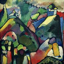 Improvisation 9 / W. Kandinsky / Painting 1910 by AKG  Images