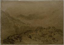 W.Turner, Felsiger Bergpass (Glen Croe, mit den Hängen des Ben Arthur: Ben an Lochain) von AKG  Images
