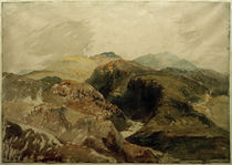 W.Turner, Yr Aran und Y Wyddfa von den Hängen des Moel Hebog von AKG  Images