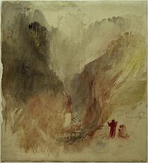 W.Turner, Blick in die Schlucht bei Pré-Saint-Didier by AKG  Images