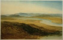 W.Turner, Campagna Romana: Der Tiber vom Castel Giubelio aus von AKG  Images