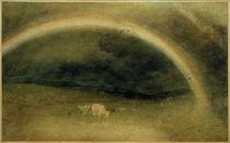 W.Turner, Ein Regenbogen mit Rindern von AKG  Images