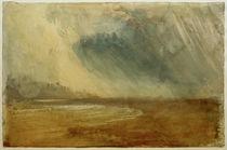 W.Turner, Regenwolken über einem Strand: möglicherweise nahe Dunstanbrough Castle by AKG  Images