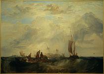 W.Turner, Mündung der Maas: Handelsschiff für Orangen zerbricht auf der Sandbank by AKG  Images