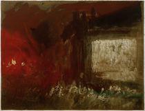 W.Turner, Feuerstudie (Venedig?) by AKG  Images