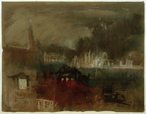 W.Turner, Venedig: Feuerwerk an der Mole by AKG  Images