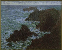 Monet / Rocks of Belle-Ile / 1886 by AKG  Images