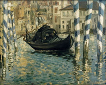 The Grand Canal in Venice / E. Manet / Painting 1874 by AKG  Images