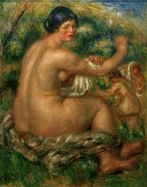 A.Renoir, After the Bath / 1912 by AKG  Images