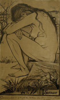 V. van Gogh, Sorrow / Drawing / 1882 by AKG  Images
