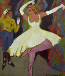 E.L.Kirchner / Russ. Dance Pair/ 1909/26 by AKG  Images
