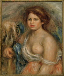 Renoir / Breast Portrait / Painting by AKG  Images