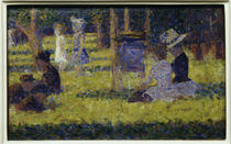 G.Seurat, study for Grande Jatte by AKG  Images
