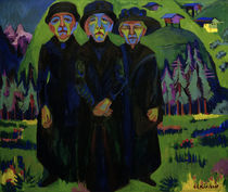 E.L.Kirchner, The three old women by AKG  Images