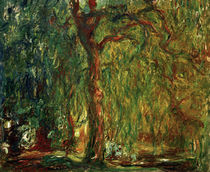 Claude Monet, Weeping willow / painting by AKG  Images