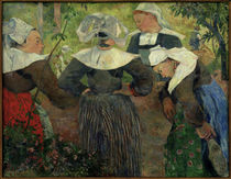 P.Gauguin, Breton peasant women by AKG  Images