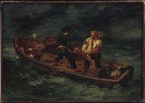 E.Delacroix, Boot mit Schiffbrüchigen von AKG  Images
