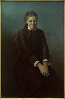 N.A.Jaroschenko, Die Studentin von AKG  Images
