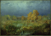 F.A.Wassiljew, Moor im Wald. Herbst von AKG  Images
