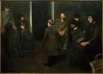 H.Slott-Møller, Die Armen. Wartezimmer des Todes von AKG  Images